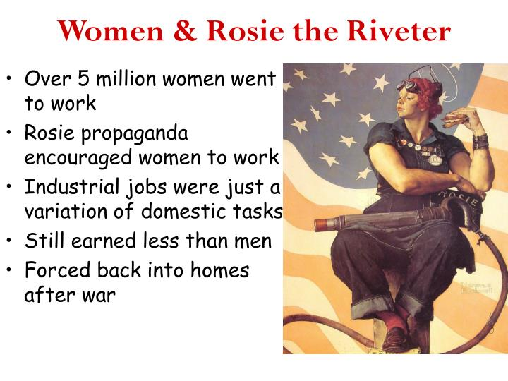 Women & Rosie the Riveter