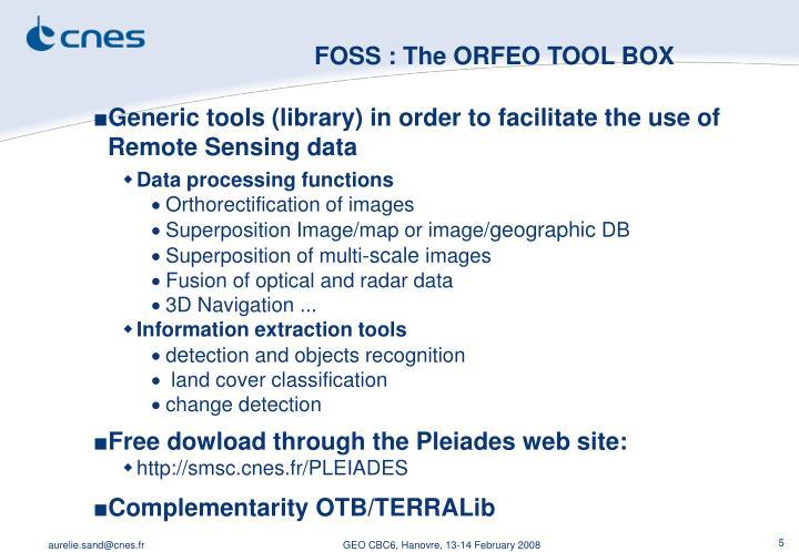 FOSS : The
