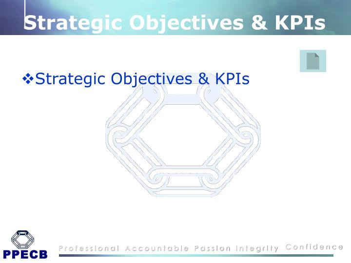 Strategic Objectives & KPIs