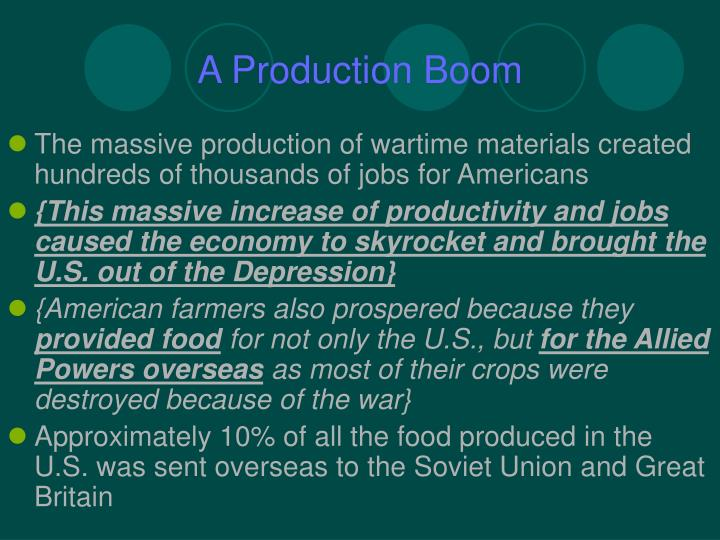 A Production Boom