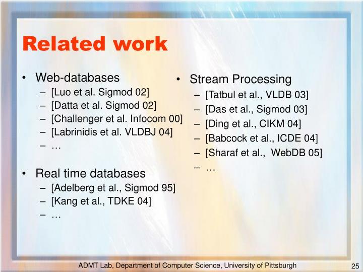 Web-databases