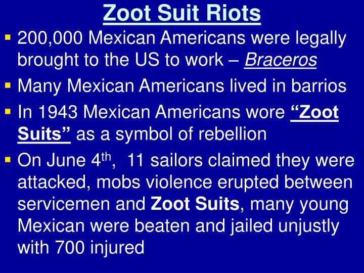 Zoot Suit Riots