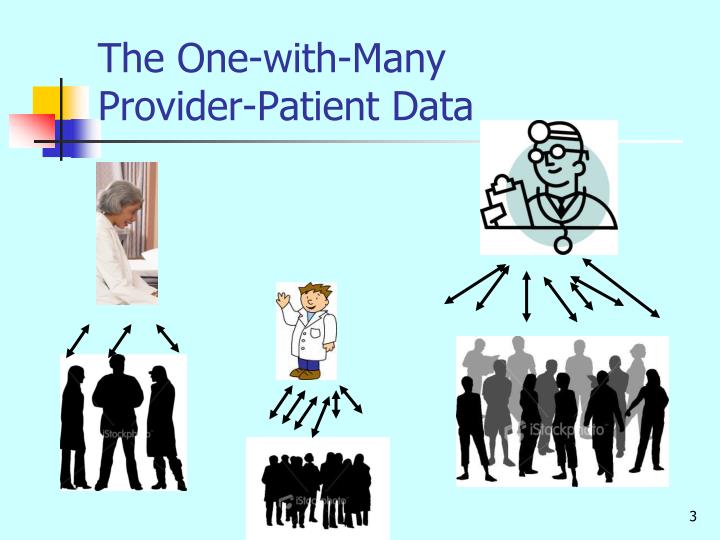 The one with many provider patient data