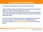 consultant recommendation