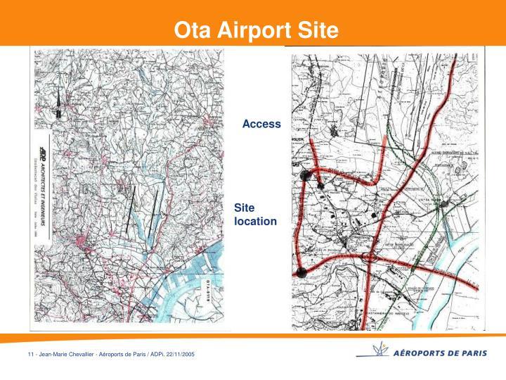 Ota Airport Site