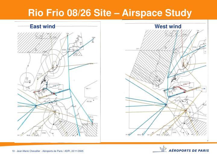 Rio Frio 08/26 Site – Airspace Study