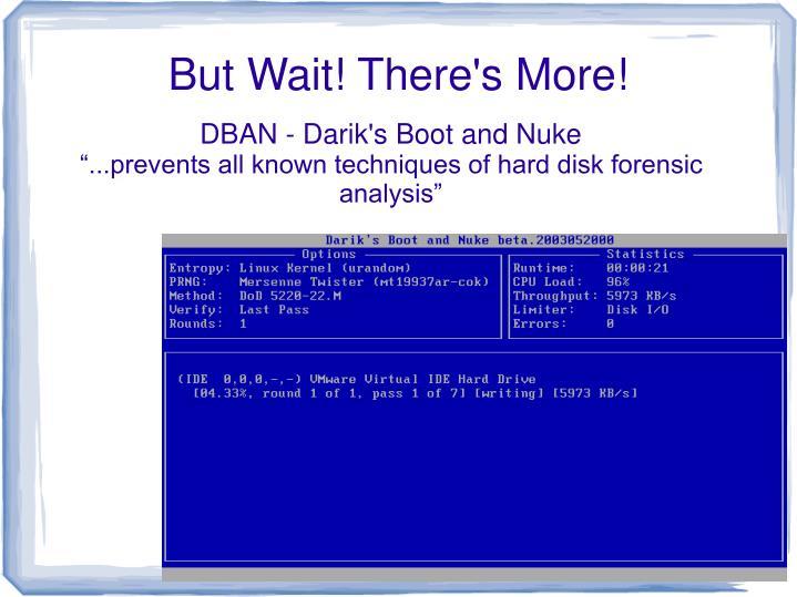 DBAN - Darik's Boot and Nuke
