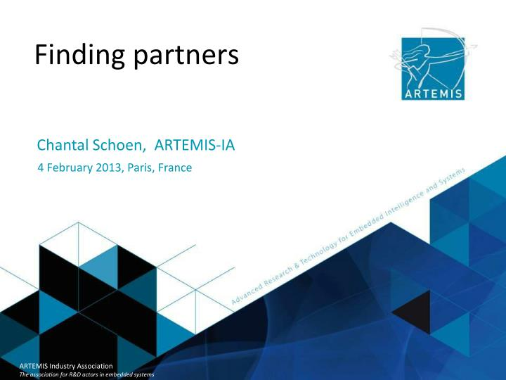 Finding partners