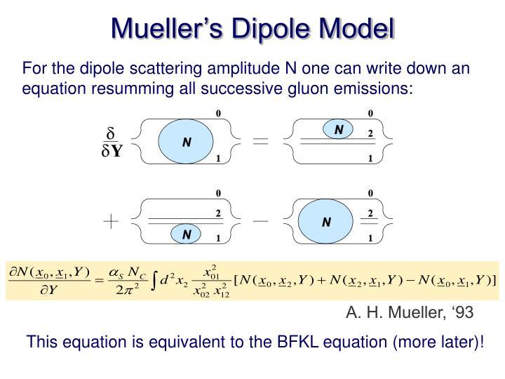 Mueller's Dipole Model