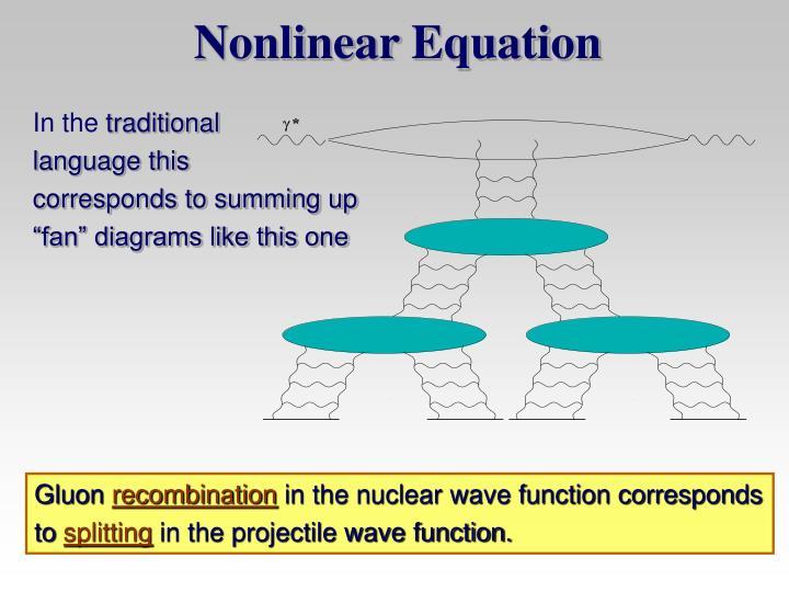 Nonlinear