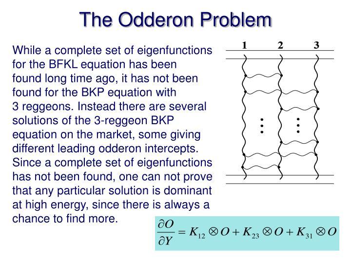 The Odderon Problem
