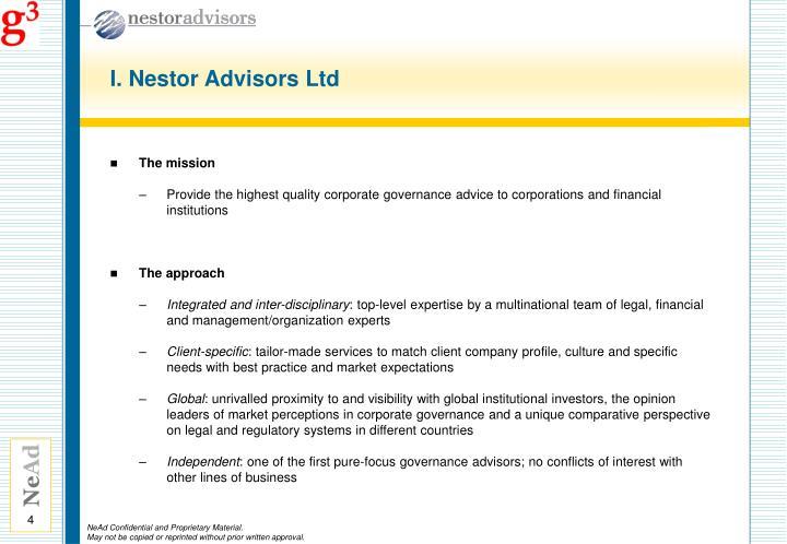 I. Nestor Advisors Ltd