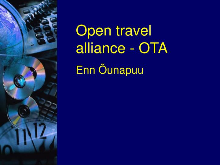 Open travel alliance - OTA