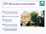 eifs why are there so many problems4
