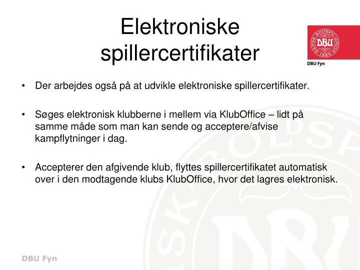 Elektroniske