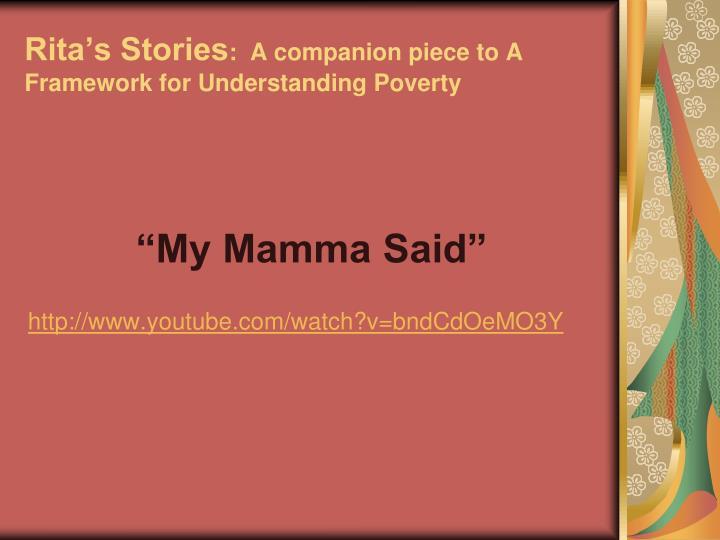 Rita's Stories