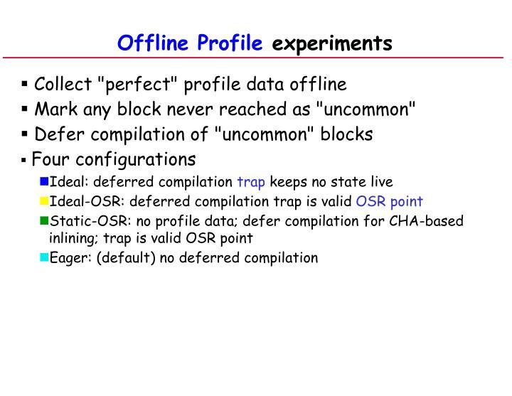 Offline Profile