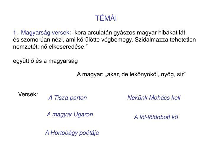 TÉMÁI