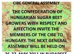 cibe general assembly1