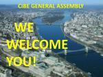 cibe general assembly2