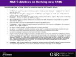 nas guidelines on deriving new hesc