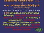 dodawanie nowych nauk skrypt s 4 oraz reinterpretacja biblijnych ii przykazanie dekalogu