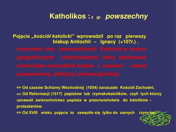 Katholikos :