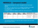 nen3610 temporal model