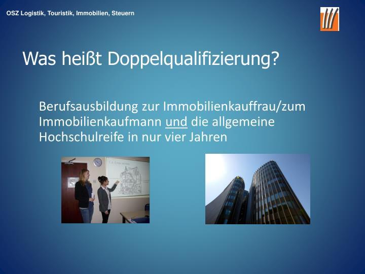 Berufsausbildung zur Immobilienkauffrau/zum Immobilienkaufmann