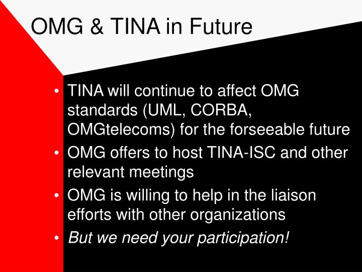 OMG & TINA in Future