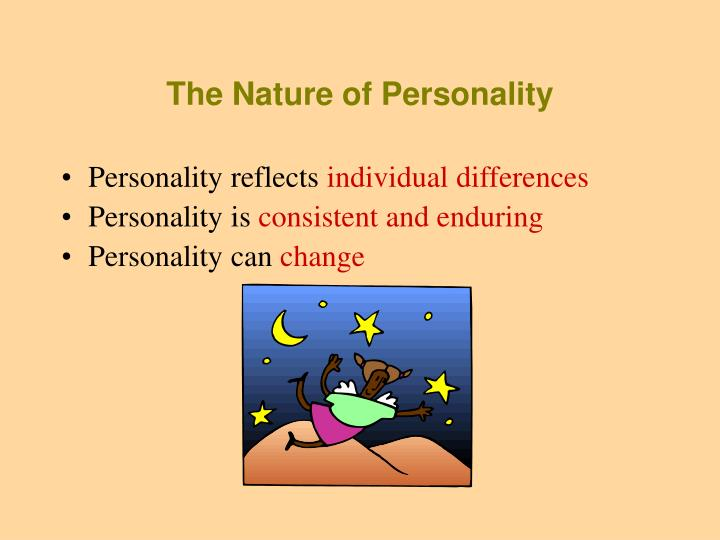The Nature of Personality