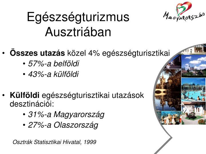 Egészségturizmus Ausztriában