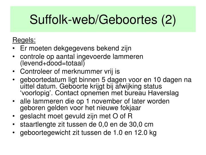Suffolk-web/Geboortes (2)
