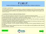 f i m i f fondo integrativo malattia e infortunio operai forestali