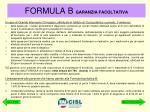 formula b garanzia facoltativa