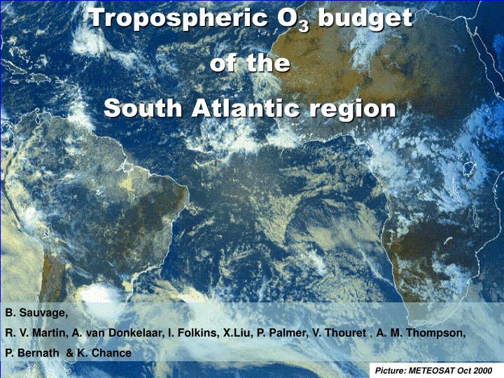 Tropospheric O