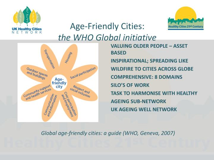 Age-Friendly Cities: