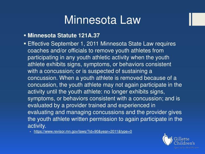Minnesota Law