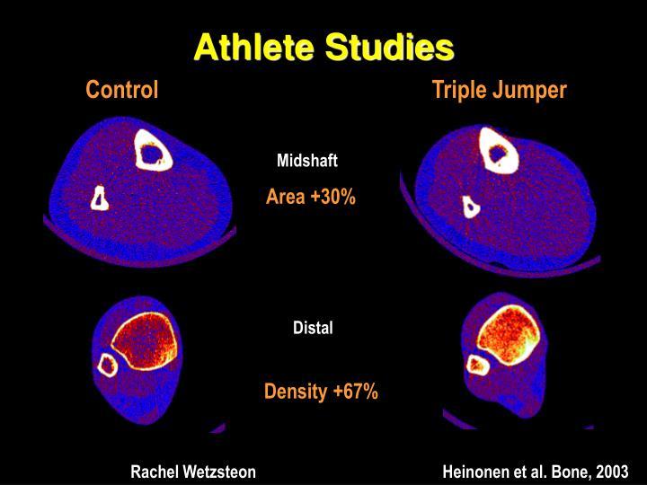 Athlete Studies