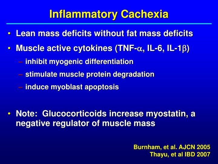 Inflammatory Cachexia