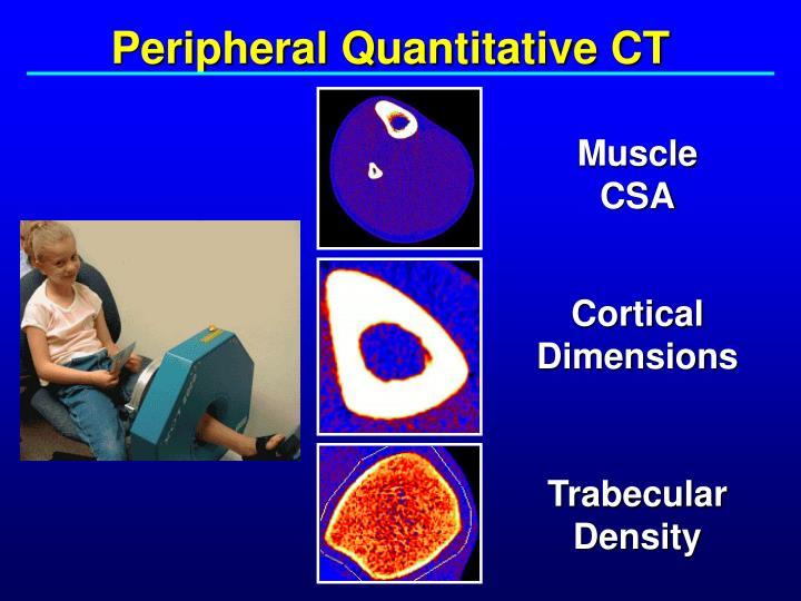 Peripheral Quantitative CT