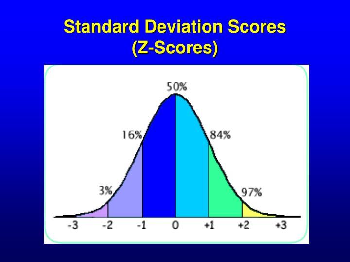 Standard Deviation Scores