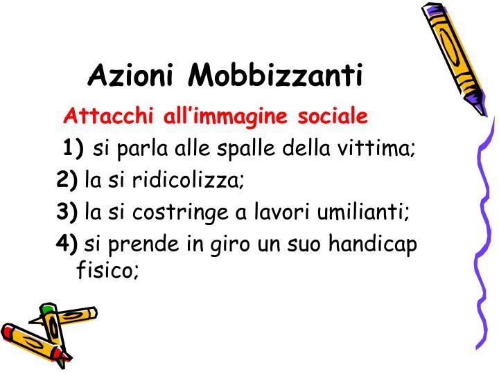 Azioni Mobbizzanti