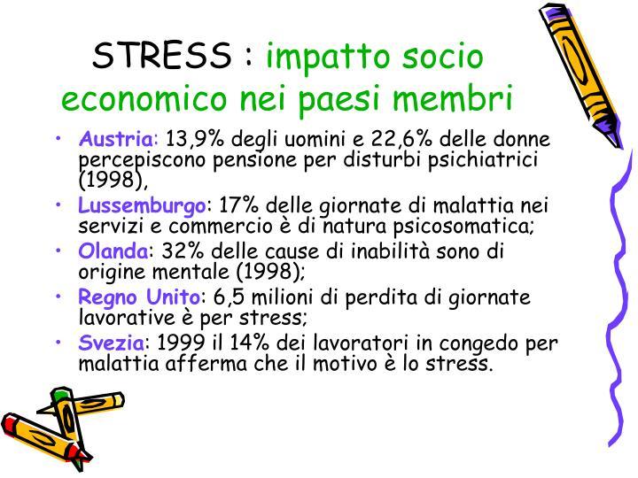 STRESS :