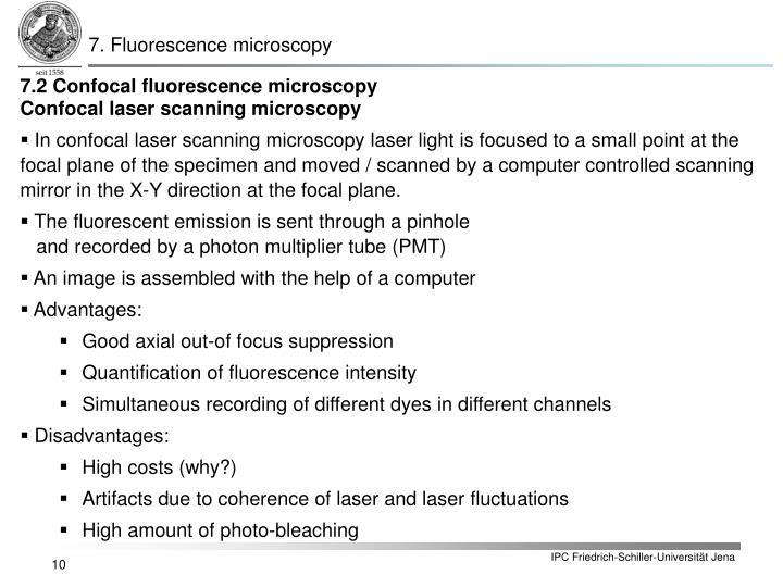 7. Fluorescence microscopy