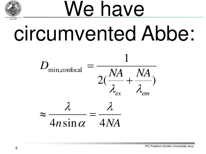 We have circumvented Abbe: