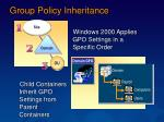 group policy inheritance