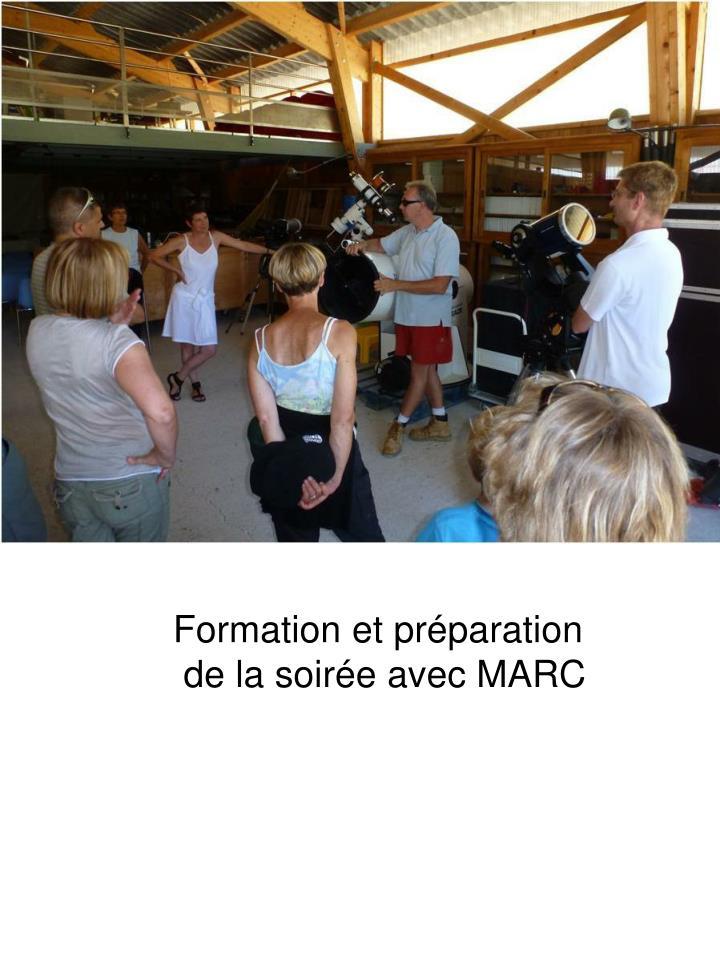 Formation et préparation