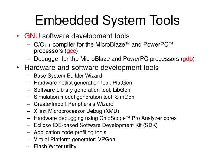 Embedded System Tools