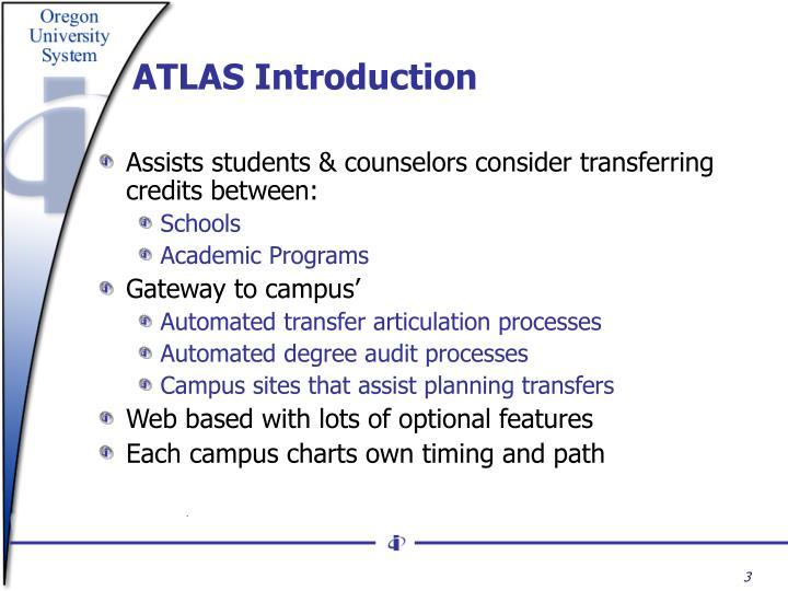 ATLAS Introduction